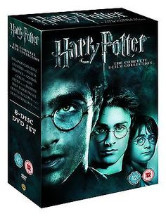 Harry potter: complete #8-film #collection (8 #discs) (dvd) (c-12),  View more on the LINK: http://www.zeppy.io/product/gb/2/161613145681/