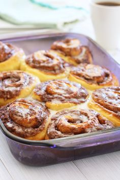 Pizza Dough Cinnamon Rolls - Easy cinnamon rolls recipe made with pizza dough. So good, so easy, and so delicious! | rasamalaysia.com