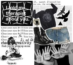 """""""Heartbreak ..."""" by l-cxi ❤ liked on Polyvore"""