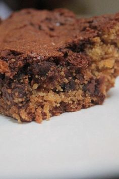 """Brookies (Brownie Cookies) 