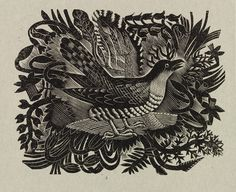 'Spring' by Eric Ravilious from the prospectus of The Cornhill Magazine, 1935 (Wood engraving) Linocut Prints, Art Prints, Block Prints, Scratchboard, Wood Engraving, Woodblock Print, Graphic Illustration, Nature Illustration, Illustrations