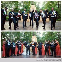 Nigerian Wedding: 50 Beautiful Color Coordinating Ideas For Your Bridesmaids & Groomsmen Hello Beautiful, Beautiful People, Strange Photos, Crazy Photos, Bridesmaids And Groomsmen, Formal Wear, Wedding Photos, Wedding Ideas, African Fashion