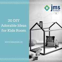20 DIY Adorable Ideas for Kids Room. #DIY Visit the link: http://bit.ly/1dM0L3v