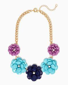 Flora Fête Statement Necklace   Jewelry   charming charlie