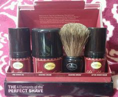 The Art Of Shaving The Perfect Shave Mid Size 4pc Kit (Sandalwood), Brand New #LB