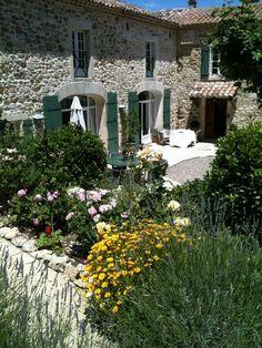 Landhaus Chantemerle Provence #Ferienhaus #Frankreich #Provence