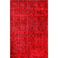 Meva Rugs Medallion Red Rug Rug Size: 2' x 3'