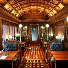 9 luxurious train trips that beat any first-class flight - Adventures By Train, Train Car, Train Rides, Train Travel, Train Trip, Top Travel Destinations, Places To Travel, Orient Express Train, The Places Youll Go