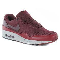 Nike Air Max 1 Em Qs Shoes - Red Mahogany