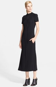 Cédric Charlier Seam Detail Midi Dress available at #Nordstrom have to have this dress!