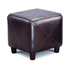 Coaster Home Furnishings 500124 Casual Ottoman Dark Brown ** ** AMAZON BEST BUY **  #WarehouseDealsPersonalCare