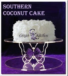 Southern Coconut Cake - Happy Birthday Daddy from all of us - August We love you! Southern Desserts, Just Desserts, Southern Food, Awesome Desserts, Just Cakes, Cakes And More, Eagle Brand Milk, Rum Cake, Homemade Cheese