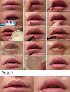 How to get thicker lips