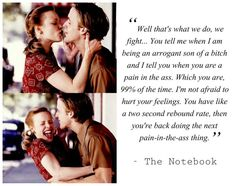 The notebook dating tips