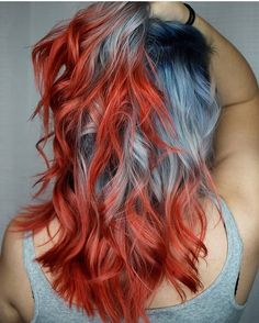 @kylierose_hairartist is the artist... Pulp Riot is the paint.