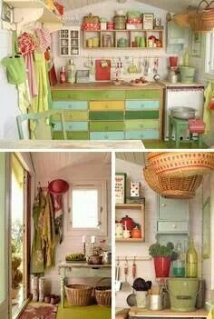 Love this gardening shed!