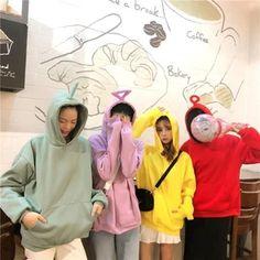 Halloween Costumes For 3, Halloween Cosplay, Kawaii Fashion, Cute Fashion, Korean Best Friends, Halloween Disfraces, Grunge Fashion, Besties, Bestfriends