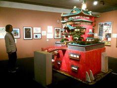 Tokyo museum offers beautiful exhibit showcasing the architecture of Studio Ghibli Studio Ghibli, Japanese Site, Japanese Doll, Spirited Away Bathhouse, Lego Memes, Isao Takahata, Tokyo Museum, Film Studio, Hayao Miyazaki