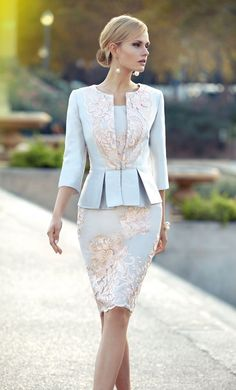 Cheap Appliqued Mother Of The Bride Dresses With Sleeves Peplum Wedding Guest Dress Knee Length Plus Size Jacket Mothers Groom Gown Dresses Uk, Elegant Dresses, Beautiful Dresses, Evening Dresses, Fashion Dresses, Formal Dresses, Bride Dresses, Lounge Dresses, Cheap Dresses