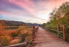 Beautiful fall photography of Big Bear Lake by Dennis Benston. http://www.visitcalifornia.com/region/discover-inland-empire