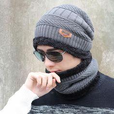 2016 new knitted hat fashion Beanies Knit Men s Winter Hat Caps Skullies  Bonnet For Men Women a059863135d