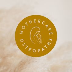 Brand sub-mark created as a part of a branding package for Mother-care Osteopaths based in Tauranga New Zealand. Branding design by Case In Point Design Studio. Branding Design, Logo Design, Graphic Design, Tauranga New Zealand, Mother Care, Showcase Design, Brand Packaging, Studio, Logos