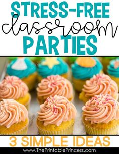 If you're a PreK, Kindergarten, or First Grade teacher you know that classroom parties are super fun but planning them can be a lot of work. Here's three practical and easy to implement ideas to get the most out of your parties with the least amount of st
