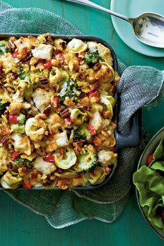 Broccoli Recipes: Pasta-Chicken-Broccoli Bake