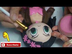 Tutorial de falda y cuerpo de fofucha comunión - YouTube Foam Crafts, Paper Flowers, Origami, Youtube, Projects To Try, Birthdays, Bloom, Hobbit, Baby Shower
