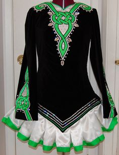 KDSF Irish Dance Solo Dress Costume