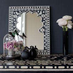 Pretty Moroccan mirror.
