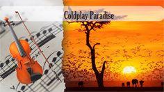 Partitura Coldplay Paradise Violín