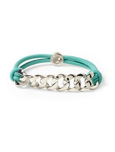 Marc by Marc Jacobs Sporty Turnlock Bracelet | Piperlime $58