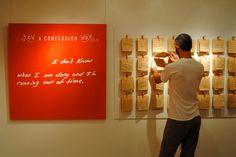 ¿Y si te reconocen por la letra? ;) Exposing Thousands of Anonymous Confessions