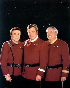 Chekov, Kirk & Scott