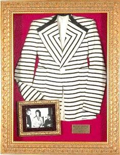 David Bowie's Freddie Burretti designed jacket (the one he is wearing in the Mick Rock photo on the train).