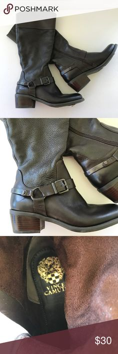 "Vince Camuto Brown ""Brunah"" boots Brand new with tags. Brown leather. Size 6 1/2 Vince Camuto Shoes Heeled Boots"