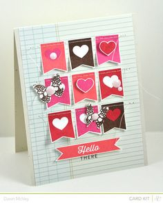 Hello There -- Double Scoop card kit ONLY by Dawn McVey at @Studio_Calico