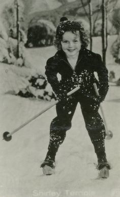 Shirley Temple SkiVintage