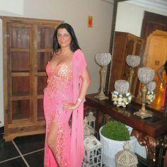 Mi preciosa amiguita Maite, en rosa