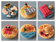 'Ladies Beach Holiday' Cupcakes ☀️✈️ By Jules-Anne's Cake Creations