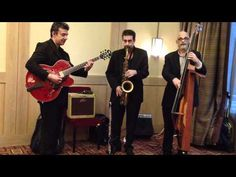 Expressway Music Jazz Trio NYC-video playing cocktail hour for corporate gig May 2012  http://www.youtube.com/watch?v=XgoOyav3X5w#