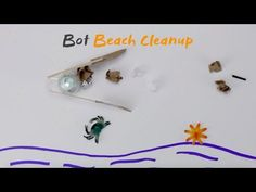 (7) Ozobot Earth Day Challenge | Bot Beach Cleanup - YouTube
