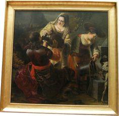 Ferdinand Bol, Elièzer et Rebecca au Puits