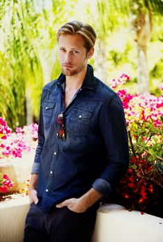 Alexander Skarsgard.......LOVE ME SOME ERIC!!!!!  Hurry back True Blood!!