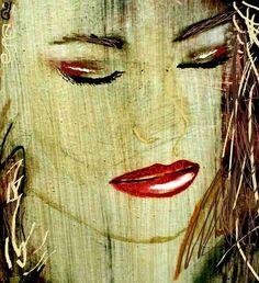 "Detail: Jill. 1995 24"" x 30"" Oil on canvas"