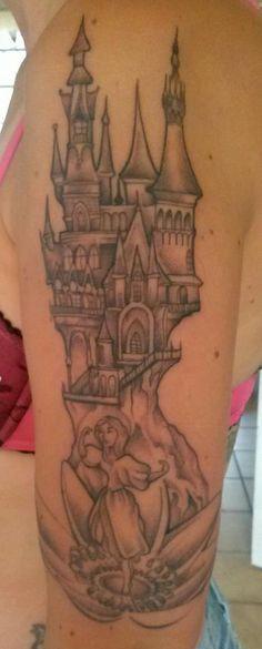 Efteling tatoeage van Manilla Morsink