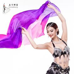 >> Click to Buy << Belly Dance Stage Performance Silk Veil Belly Dance Accessory Silk Veil Belly dance silk veil #Affiliate