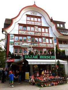 Appenzell painted buildings
