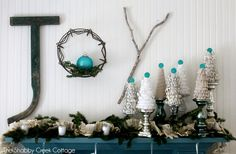 """ The Shabby Creek Cottage "" - Farmhouse & Cottage DIY & Design Blog: Holiday Housewalk 2012"